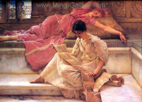 AML0003 - Alma-Tadema Reproduction Art Oil Painting