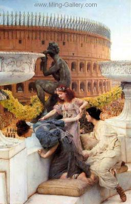 AML0014 - Alma-Tadema Reproduction Art Oil Painting