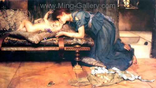 AML0021 - Alma-Tadema Reproduction Art Oil Painting