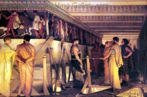 AML0027 - Alma-Tadema Reproduction Art Oil Painting