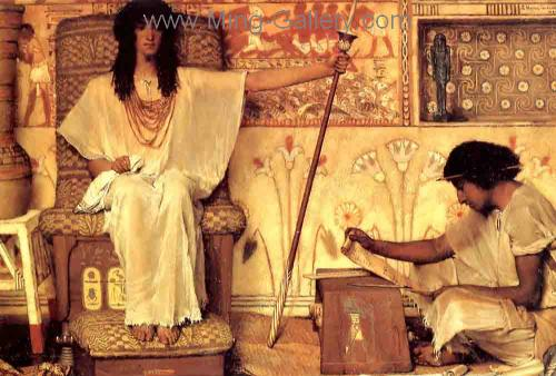 AML0029 - Alma-Tadema Reproduction Art Oil Painting