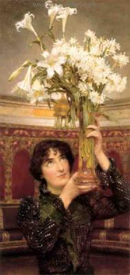 AML0031 - Alma-Tadema Reproduction Art Oil Painting