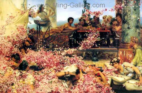 AML0037 - Alma-Tadema Reproduction Art Oil Painting