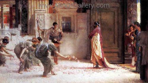 AML0039 - Alma-Tadema Reproduction Art Oil Painting