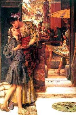 AML0040 - Alma-Tadema Reproduction Art Oil Painting
