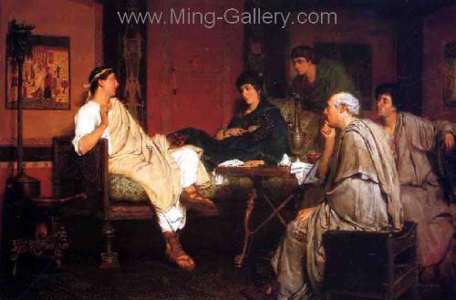 AML0055 - Alma-Tadema Reproduction Art Oil Painting