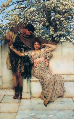AML0061 - Alma-Tadema Reproduction Art Oil Painting