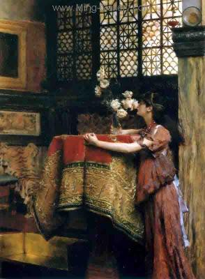 AML0065 - Alma-Tadema Reproduction Art Oil Painting