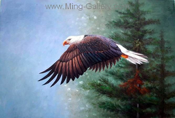 ANB0074 - Oil Painting of Birds for Sale