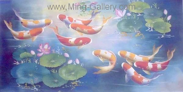 ANF0001 - Fish Painting for sale