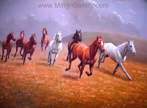 ANH0006 - Horse Painting for Sale