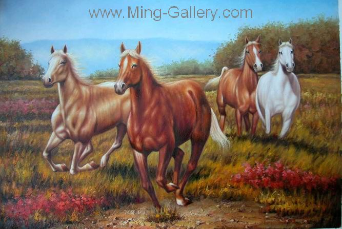 ANH0007 - Horse Painting for Sale