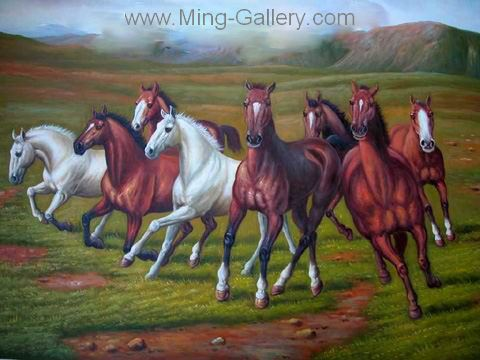 ANH0009 - Horse Painting for Sale