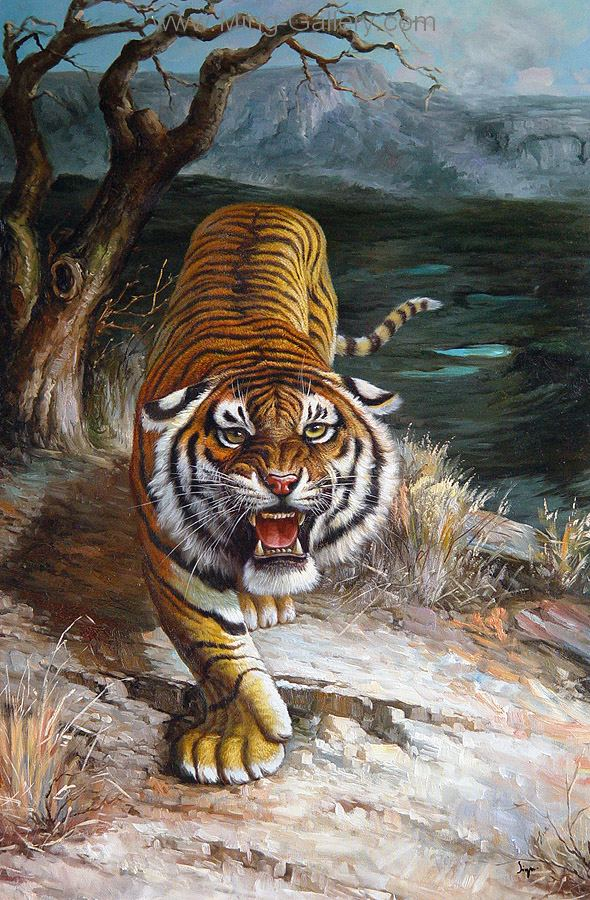 ANL0015 - Wildlife Art Painting