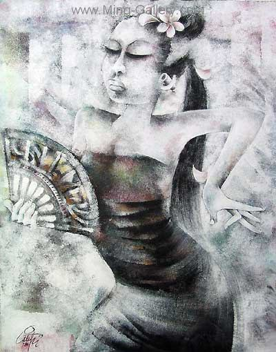 BAT0011 - Traditional Balinese Art Painting