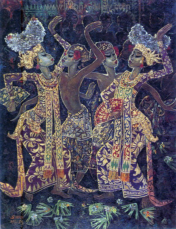 BAT0020 - Traditional Balinese Art Painting