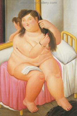 BOT0006 - Botero Art Reproduction Painting