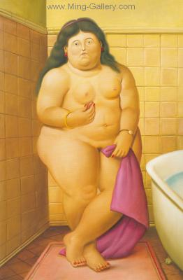 BOT0020 - Botero Art Reproduction Painting