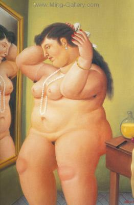 BOT0024 - Botero Art Reproduction Painting