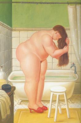 BOT0027 - Botero Art Reproduction Painting