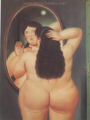 BOT0029 - Botero Art Reproduction Painting
