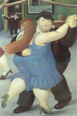 BOT0035 - Botero Art Reproduction Painting