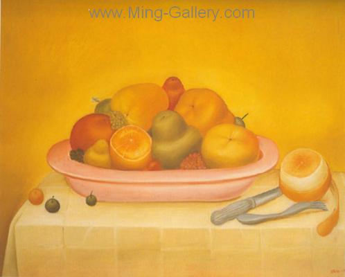 BOT0045 - Botero Art Reproduction Painting