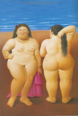 BOT0050 - Botero Art Reproduction Painting