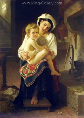 BOU0001 - Bouguereau Art Reproduction