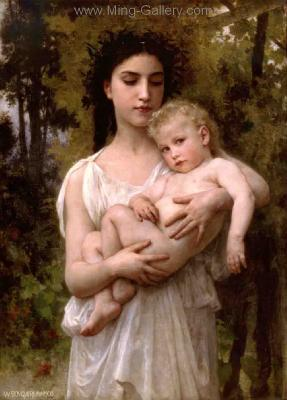 BOU0005 - Bouguereau Art Reproduction