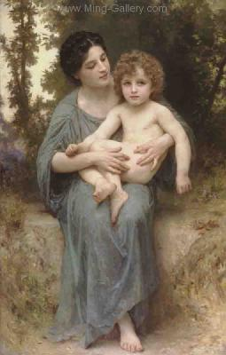BOU0027 - Bouguereau Art Reproduction