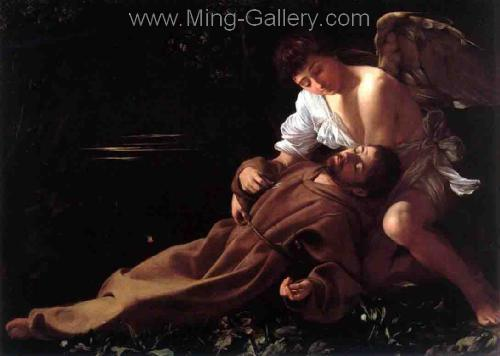 CAR0002 - Caravaggio Oil Painting