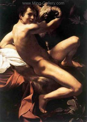 CAR0004 - Caravaggio Oil Painting