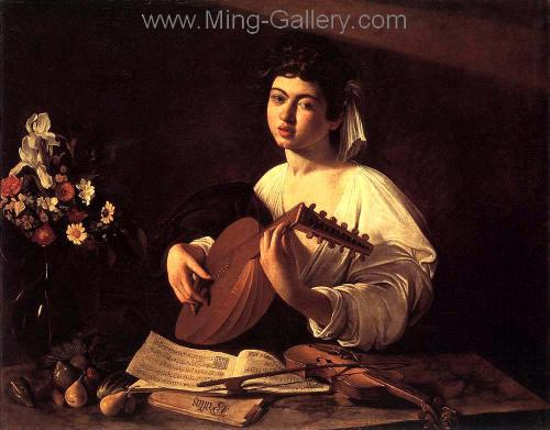 CAR0025 - Caravaggio Oil Painting