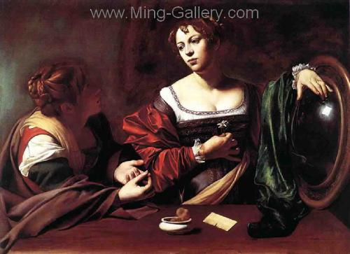 CAR0027 - Caravaggio Oil Painting