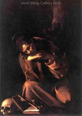 CAR0044 - Caravaggio Oil Painting