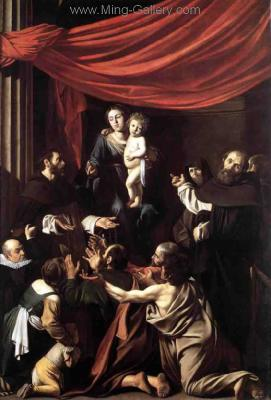 CAR0045 - Caravaggio Oil Painting