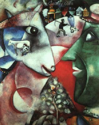 CHA0001 - Marc Chagall Reproduction Art Oil Painting