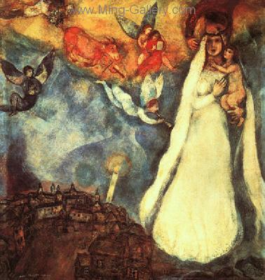 CHA0002 - Marc Chagall Reproduction Art Oil Painting