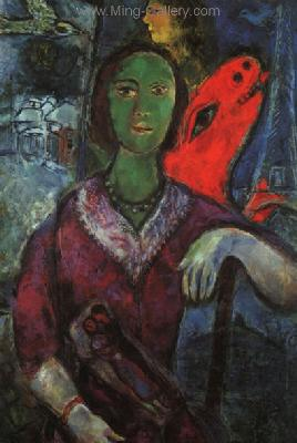 CHA0003 - Marc Chagall Reproduction Art Oil Painting