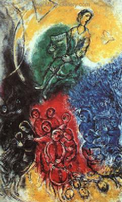 CHA0006 - Marc Chagall Reproduction Art Oil Painting