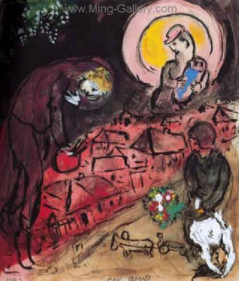 CHA0007 - Marc Chagall Reproduction Art Oil Painting