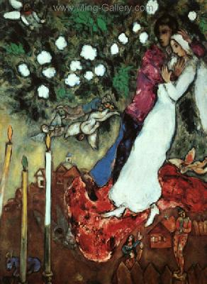 CHA0011 - Marc Chagall Reproduction Art Oil Painting