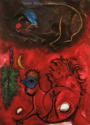 CHA0012 - Marc Chagall Reproduction Art Oil Painting