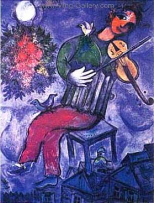 CHA0015 - Marc Chagall Reproduction Art Oil Painting
