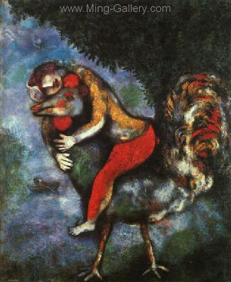 CHA0024 - Marc Chagall Reproduction Art Oil Painting
