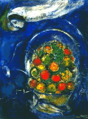 CHA0026 - Marc Chagall Reproduction Art Oil Painting