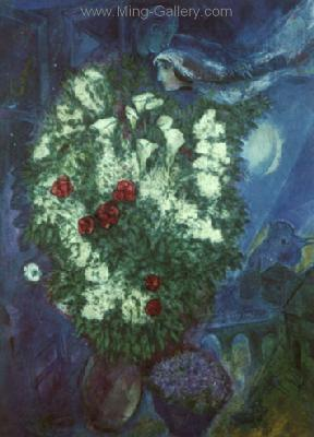 CHA0027 - Marc Chagall Reproduction Art Oil Painting