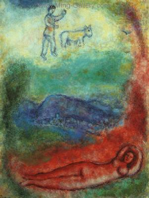 CHA0030 - Marc Chagall Reproduction Art Oil Painting