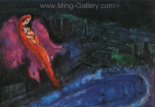 CHA0042 - Marc Chagall Reproduction Art Oil Painting
